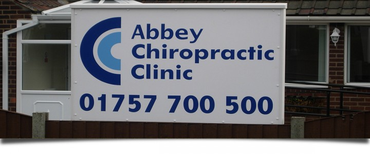Opening Times Abbey Chiropractic Selby